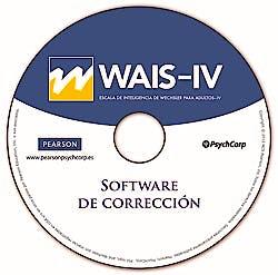 Portada del libro 8435085111976 Software de Corrección WAIS-IV Uso Ilimitado. No Precisa Conexión a Internet. Sistema Operativo Windows.