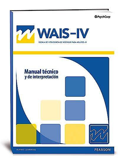 Portada del libro 8435085115035 WAIS-IV, Escala de Inteligencia de Wechsler para Adultos-IV WAIS-IV Juego Completo. Maletín