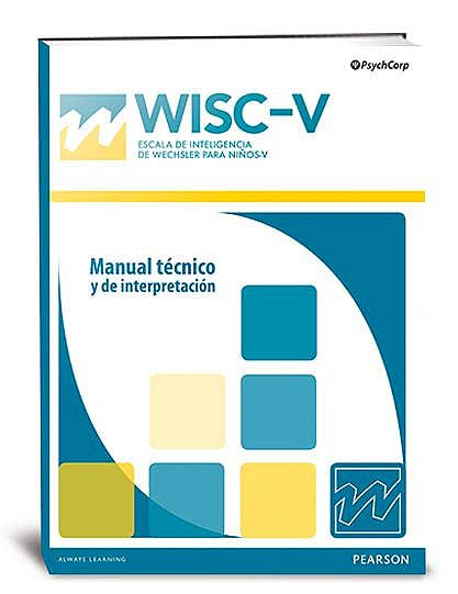 Portada del libro 8435085117398 WISC-V. Escala de Inteligencia de Wechsler para Niños-V. 25 Usos Q-Global