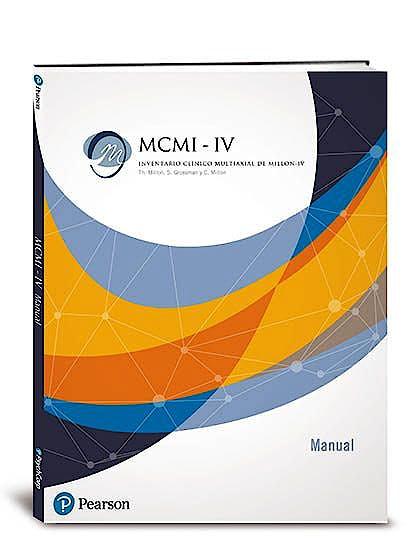 Portada del libro 8435085121111 MCMI-IV Inventario Clínico Multiaxial de Millon. Recarga Usos + HR Incluye: 25 Perfiles Online y 25 Hojas de Respuesta