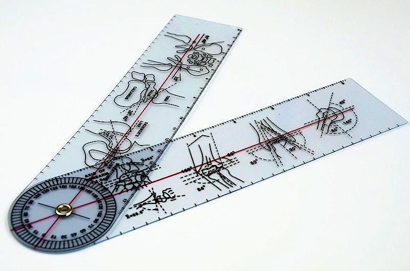 Goniómetro de Plástico Homologado