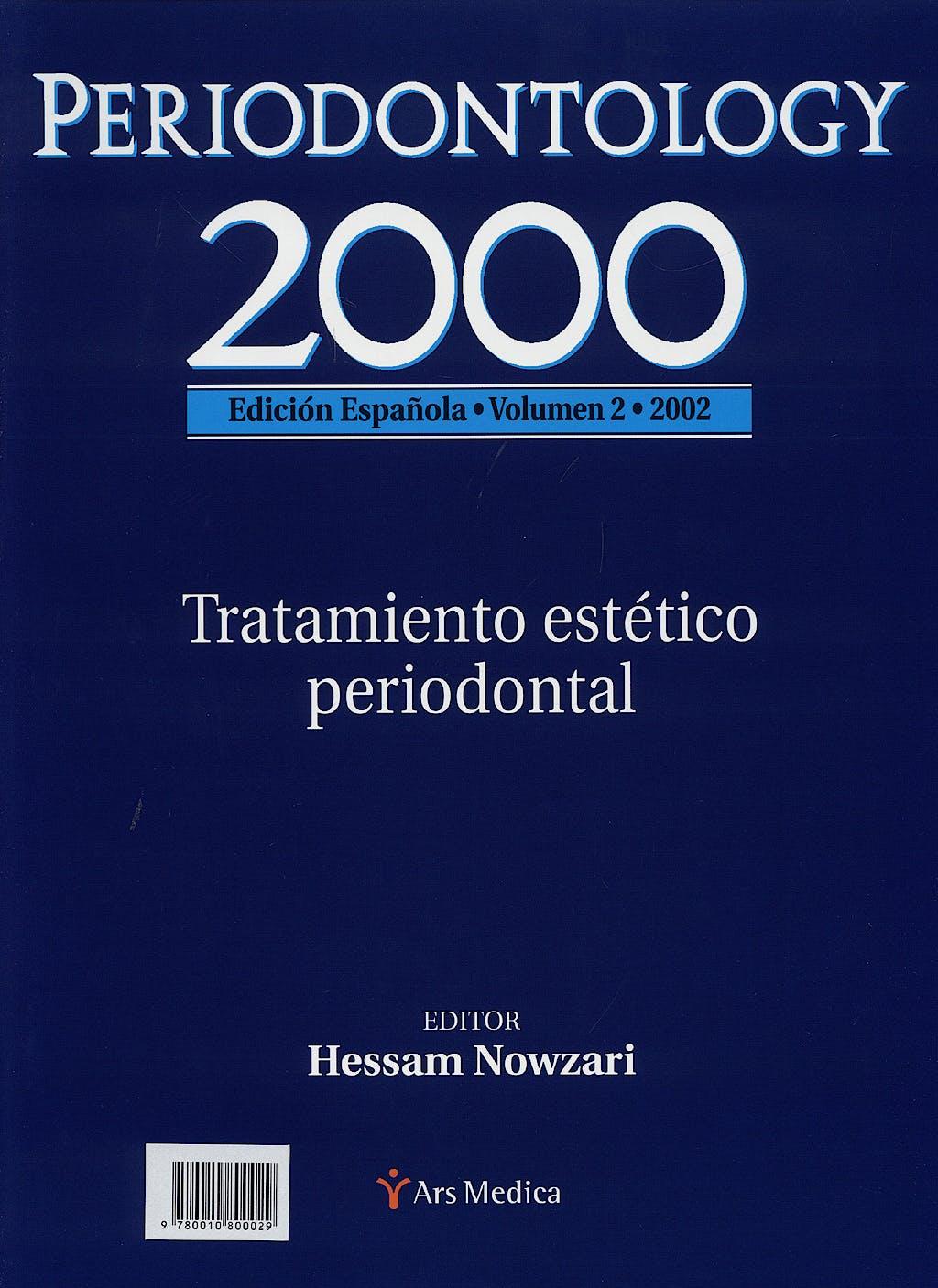 Portada del libro 9780010800029 Periodontology 2000, Vol. 2: Tratamiento Estetico Periodontal