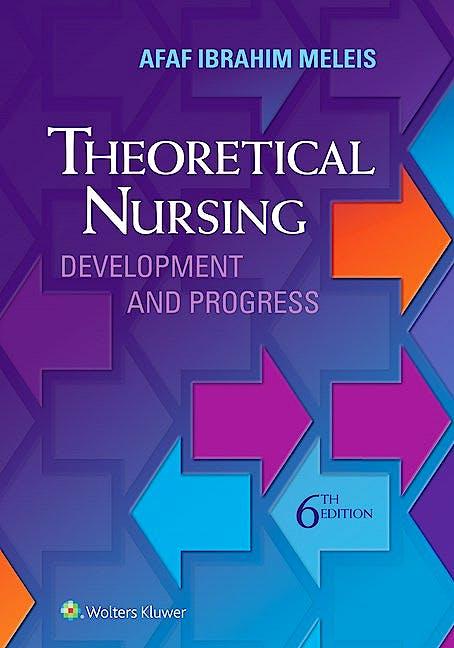 Portada del libro 9780060000424 Theoretical Nursing. Development and Progress