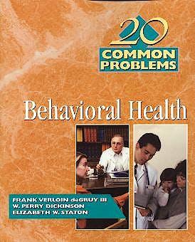 Portada del libro 9780070164383 20 Common Problems Behavioral Health