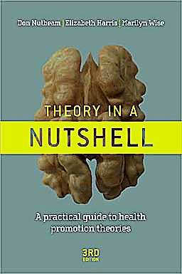 Portada del libro 9780070278431 Theory in a Nutshell: A Practical Guide to Health Promotion Theories