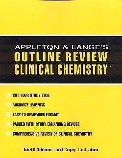 Portada del libro 9780070318472 Outline Review Clinical Chemistry