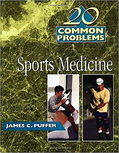 Portada del libro 9780070527201 20 Common Problems Sports Medicine