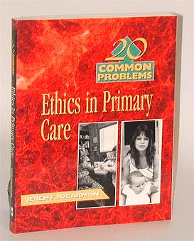 Portada del libro 9780070633698 20 Common Problems Ethics in Primary Care