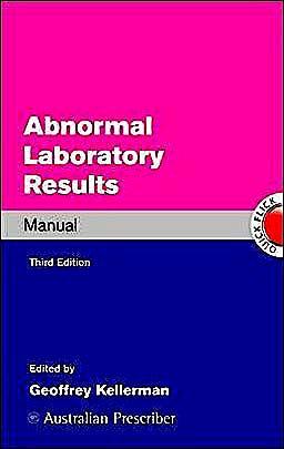Portada del libro 9780070998421 Abnormal Laboratory Results