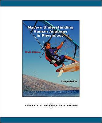 Portada del libro 9780071102087 Mader's Understanding Human Anatomy & Physiology
