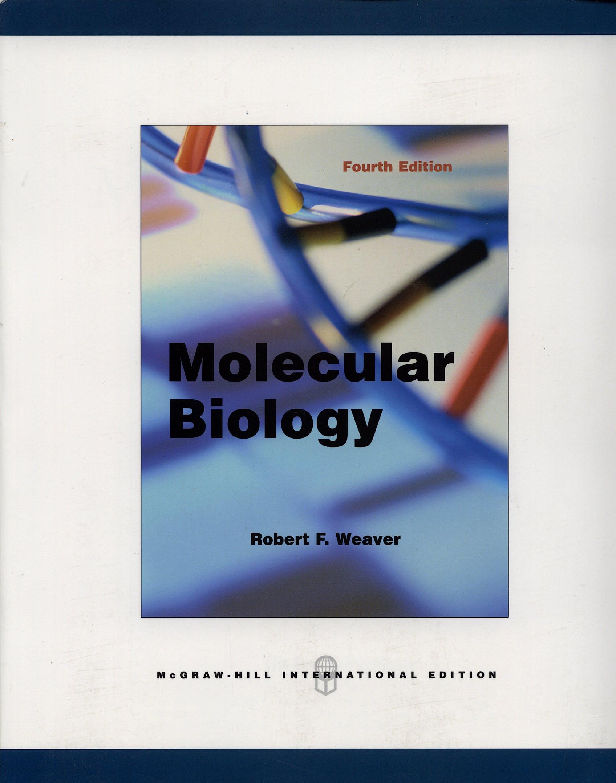 Portada del libro 9780071102162 Molecular Biology