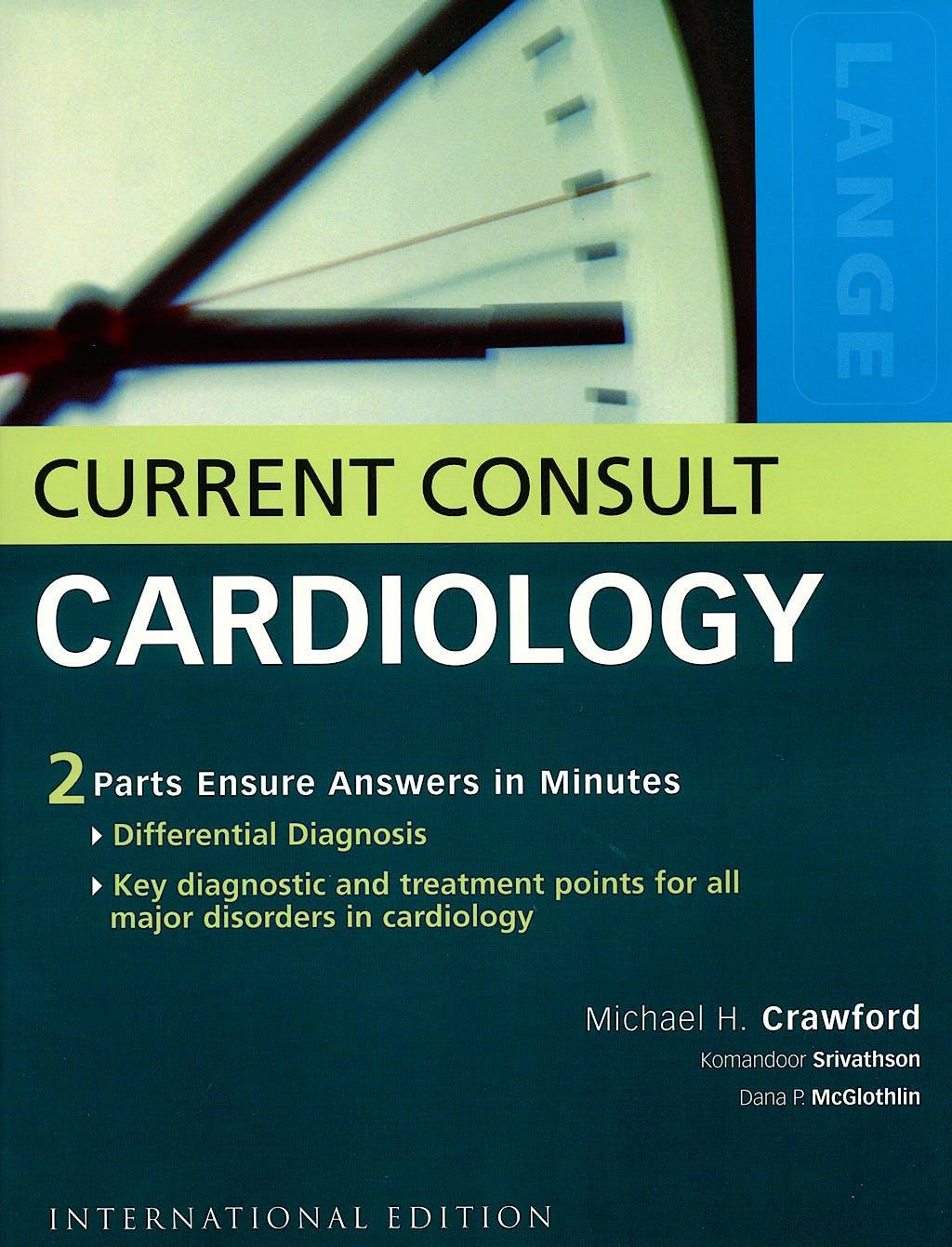 Portada del libro 9780071105132 Current Consult Cardiology. Lange