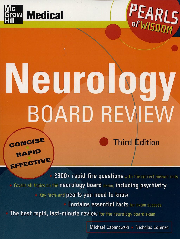 Portada del libro 9780071108713 Neurology Board Review