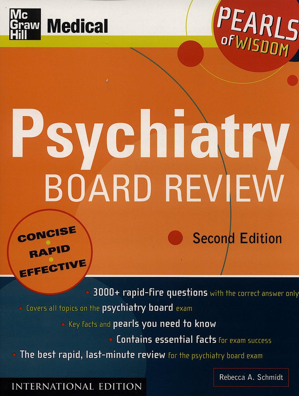Portada del libro 9780071108911 Psychiatry Board Review