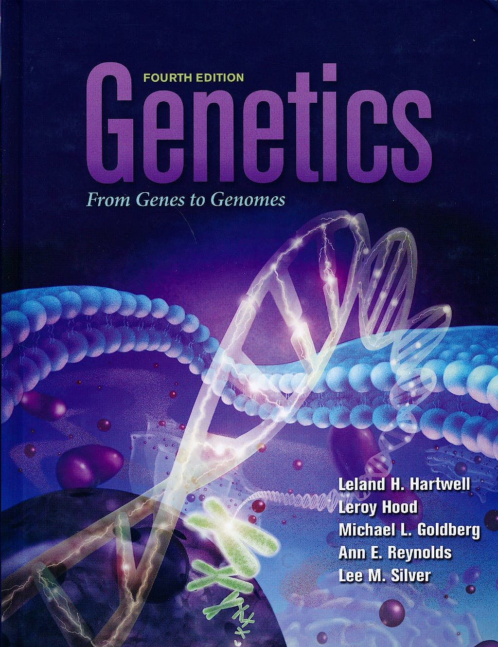 Portada del libro 9780071221924 Genetics. from Genes to Genomes