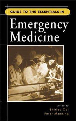 Portada del libro 9780071226318 Guide to the Essentials in Emergency Medicine