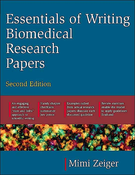 Portada del libro 9780071345446 Essentials of Writing Biomedical Research Papers