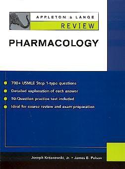 Portada del libro 9780071377430 Review Pharmacology Appleton & Lange
