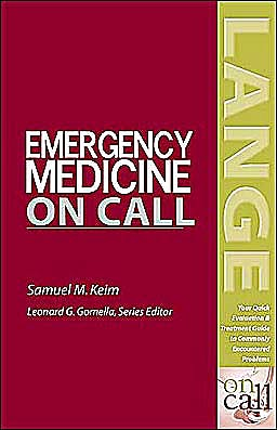 Portada del libro 9780071388795 Emergency Medicine on Call (Lange on Call Series)
