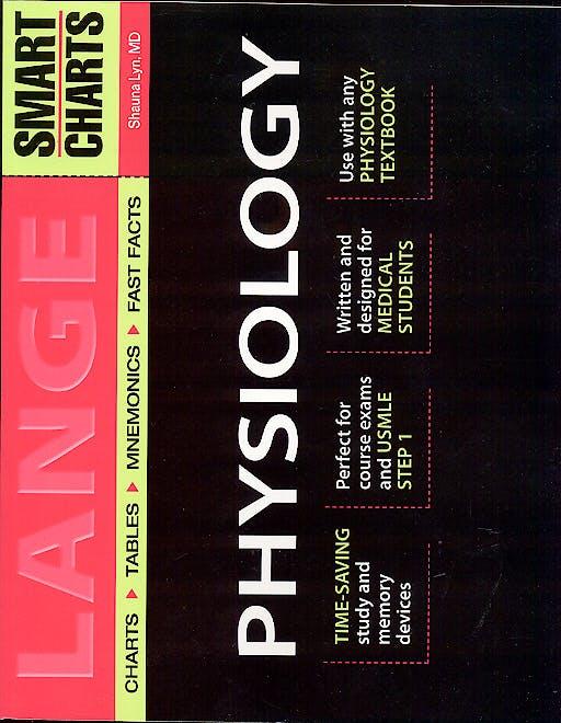 Portada del libro 9780071395076 Smart Charts Physiology. Lange