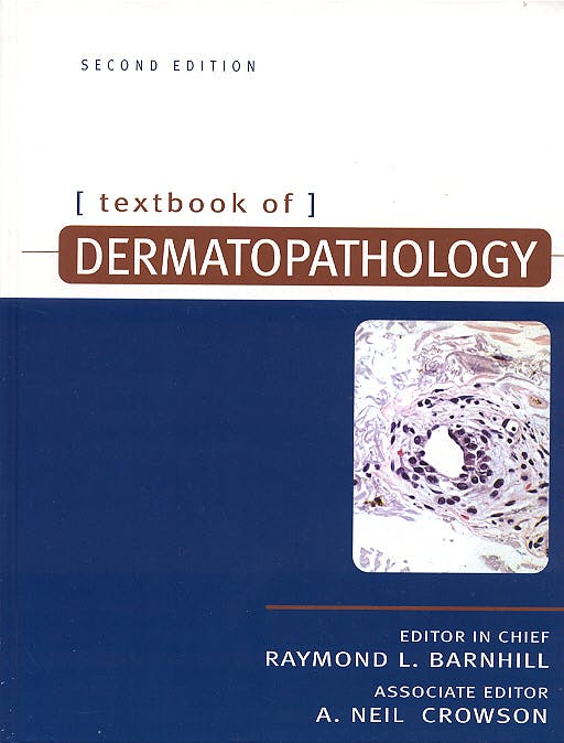 Portada del libro 9780071396608 Textbook of Dermatopathology
