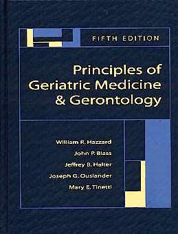 Portada del libro 9780071402163 Principles of Geriatric Medicine & Gerontology