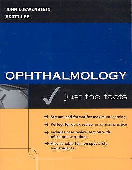 Portada del libro 9780071403320 Ophthalmology: Just the Facts