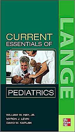 Portada del libro 9780071412568 Current Essentials Pediatrics. Lange