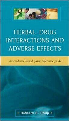 Portada del libro 9780071421539 Herbal-Drug Interactions and Adverse Effects
