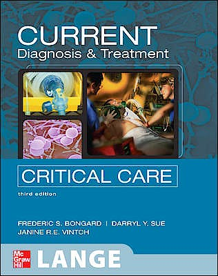 Portada del libro 9780071436571 Current Diagnosis and Treatment Critical Care. Lange