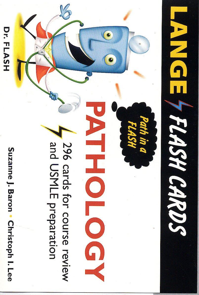 Portada del libro 9780071436908 Pathology Flash Cards. Lange