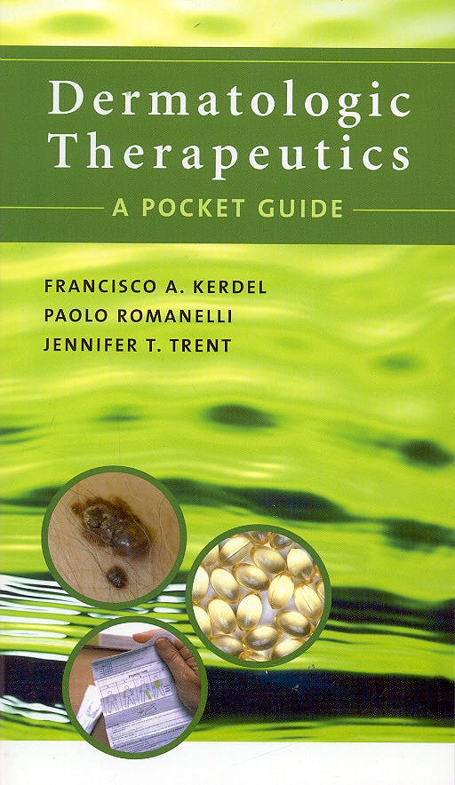 Portada del libro 9780071438896 Dermatologic Therapeutics. a Pocket Guide