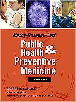 Portada del libro 9780071441988 Maxcy-Rosenau-Last Public Health and Preventive Medicine