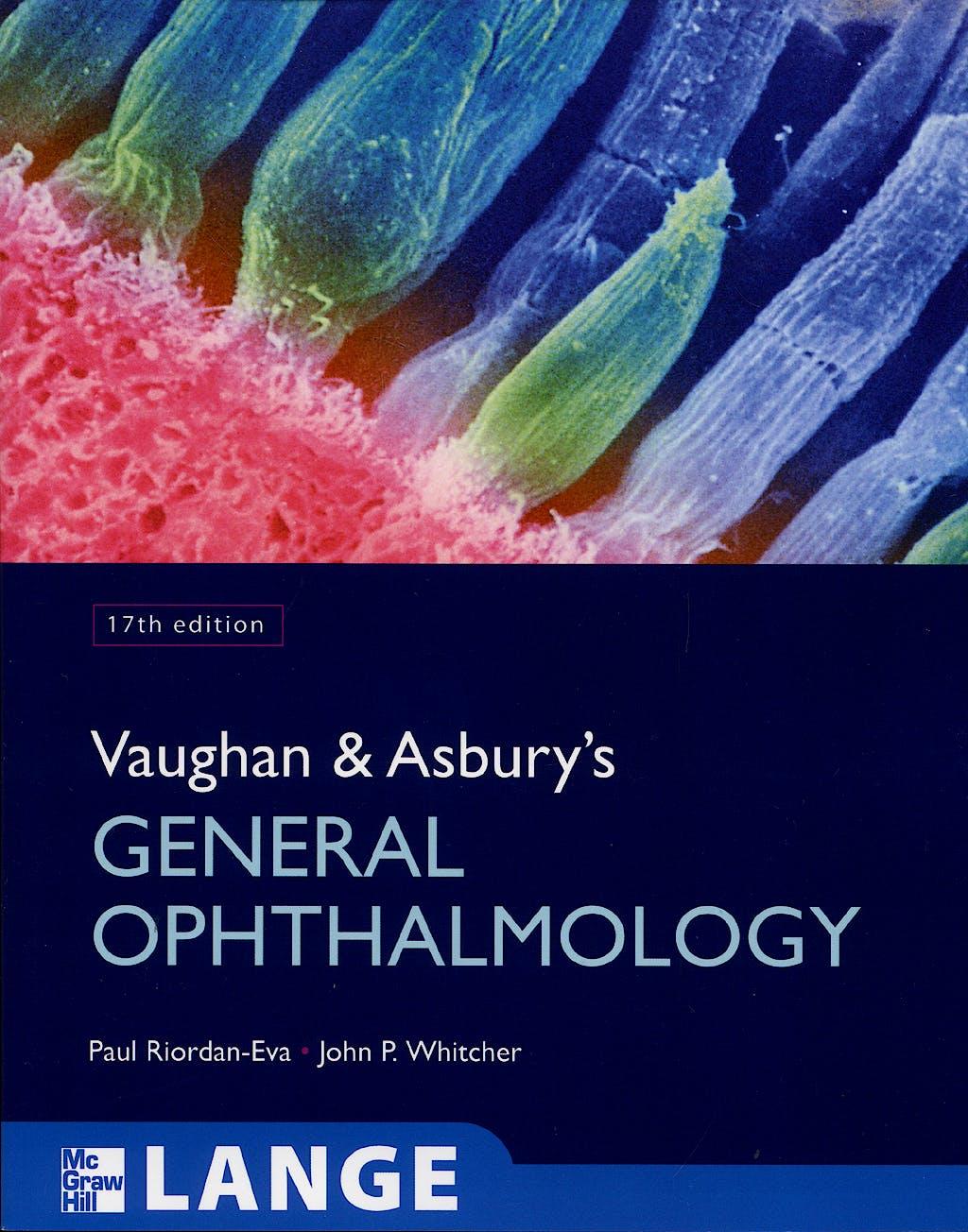Portada del libro 9780071443142 Vaughan and Asbury's General Ophthalmology. Lange