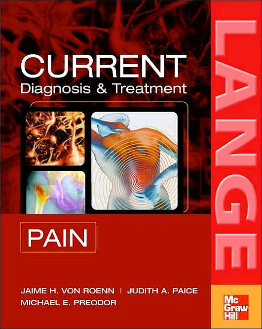 Portada del libro 9780071444781 Current Diagnosis and Treatment Pain. Lange