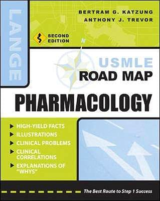 Portada del libro 9780071445818 Pharmacology Usmle Road Map. Lange