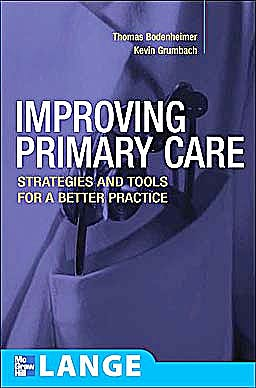 Portada del libro 9780071447386 Improving Primary Care. Strategies and Tools for a Better Practice. Lange