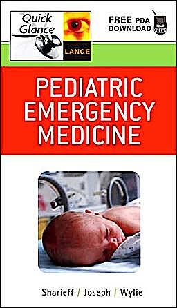 Portada del libro 9780071452328 Pediatric Emergency Medicine Quick Glance (Lange Quick Glance)