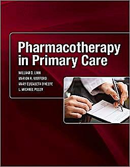 Portada del libro 9780071456128 Pharmacotherapy in Primary Care