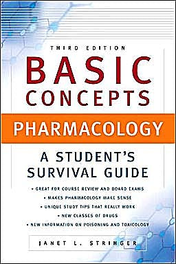 Portada del libro 9780071458184 Basic Concepts in Pharmacology. a Student's Survival Guide