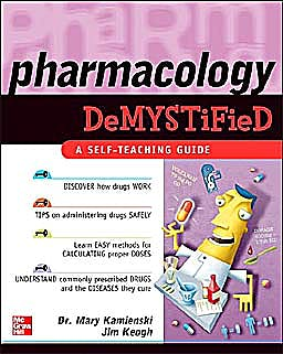 Portada del libro 9780071462082 Pharmacology Demystified. a Self-Teaching Guide