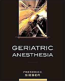 Portada del libro 9780071463089 Geriatric Anesthesia