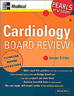 Portada del libro 9780071464222 Cardiology Board Review: Pearls of Wisdom