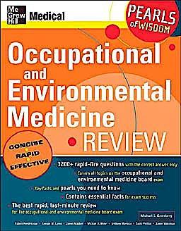 Portada del libro 9780071464383 Occupational and Environmental Medicine Review (Pearls of Wisdom)