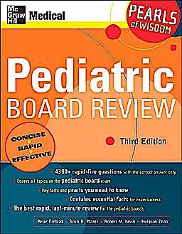 Portada del libro 9780071464444 Pediatric Board Review: Pearls of Wisdom