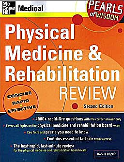 Portada del libro 9780071464468 Physical Medicine and Rehabilitation Review. Pearls of Wisdom