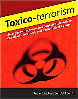 Portada del libro 9780071471862 Toxico-Terrorism. Emergency Response and Clinical Approach to Chemical, Biological and Radiological Agents