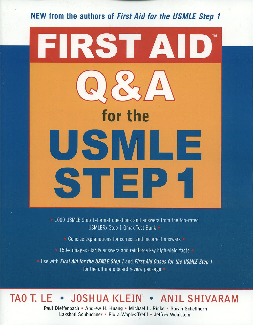 Portada del libro 9780071481724 First Aid Q&a for the Usmle Step 1 (Paperback)