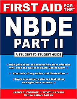 Portada del libro 9780071482530 First Aid for the Nbde Part II