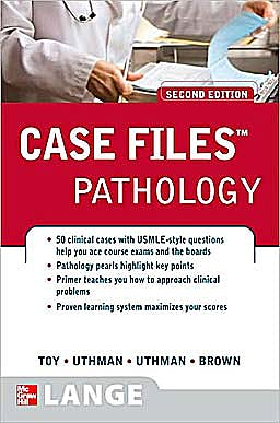 Portada del libro 9780071486668 Case Files: Pathology (Lange Case Files)